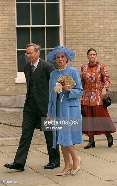 The Duke And Duchess Of Gloucester Arriving For The Wedding Reception For Princess Alexia Of Greece And Carlos Morales Quintana At Kenwood House...