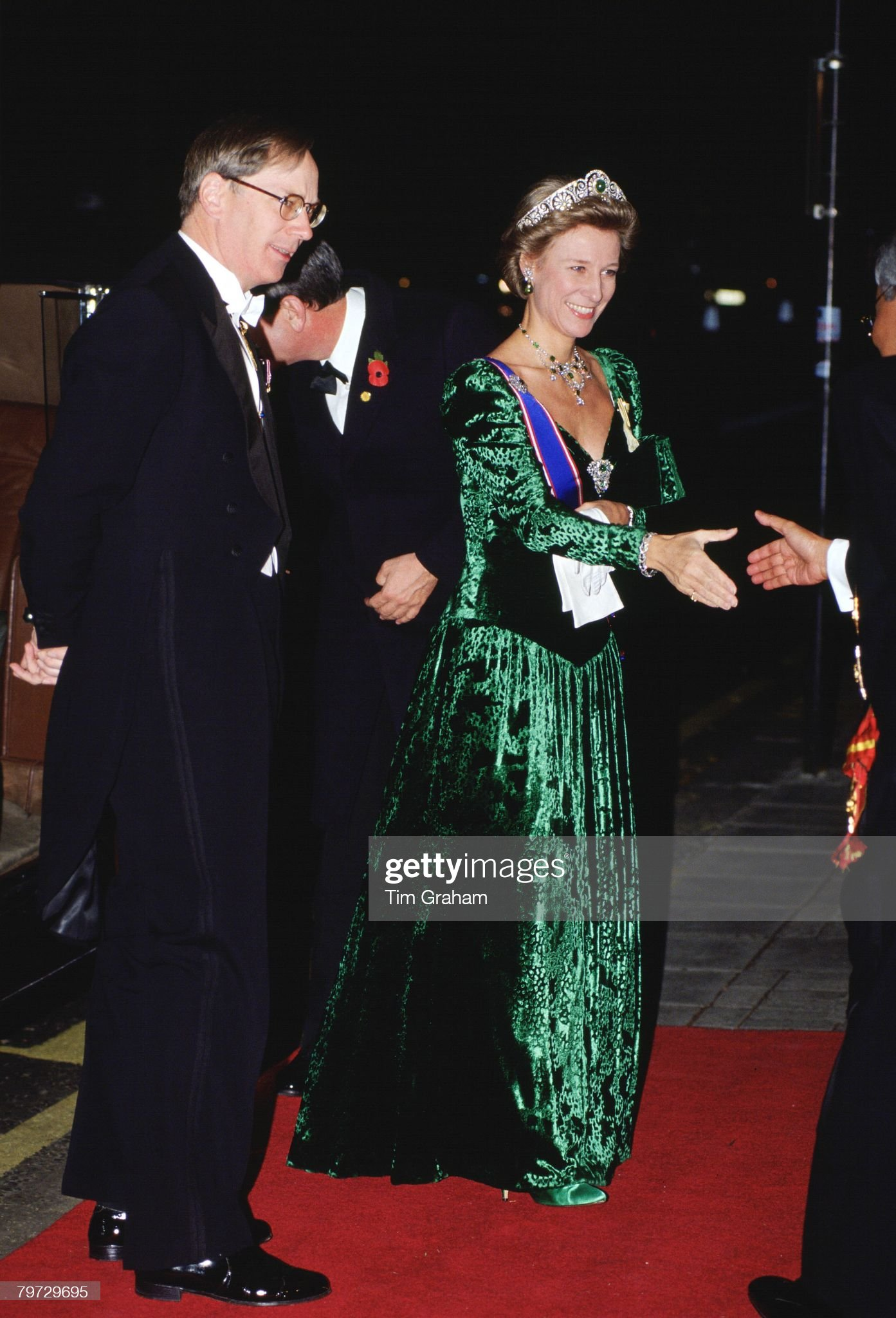 The Duke and Duchess of Gloucester at the Dorchester Hotel f : News Photo