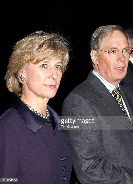 The Duke and Duchess of Gloucester at the V A for a reception to launch the exhibition 'Style and Splendour Queen Maud of Norway's Wardrobe 18961938'...