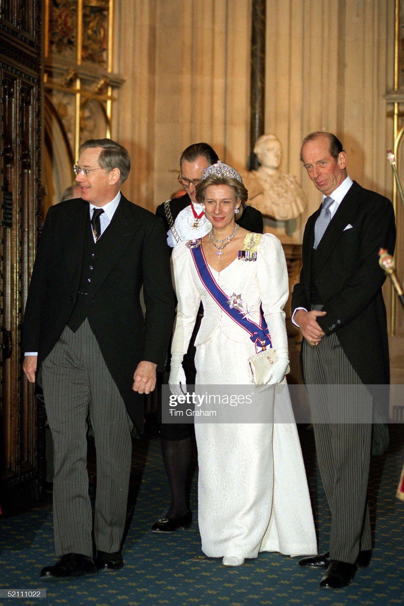 Duke And Duchess Gloucester And Duke Of Kent : News Photo