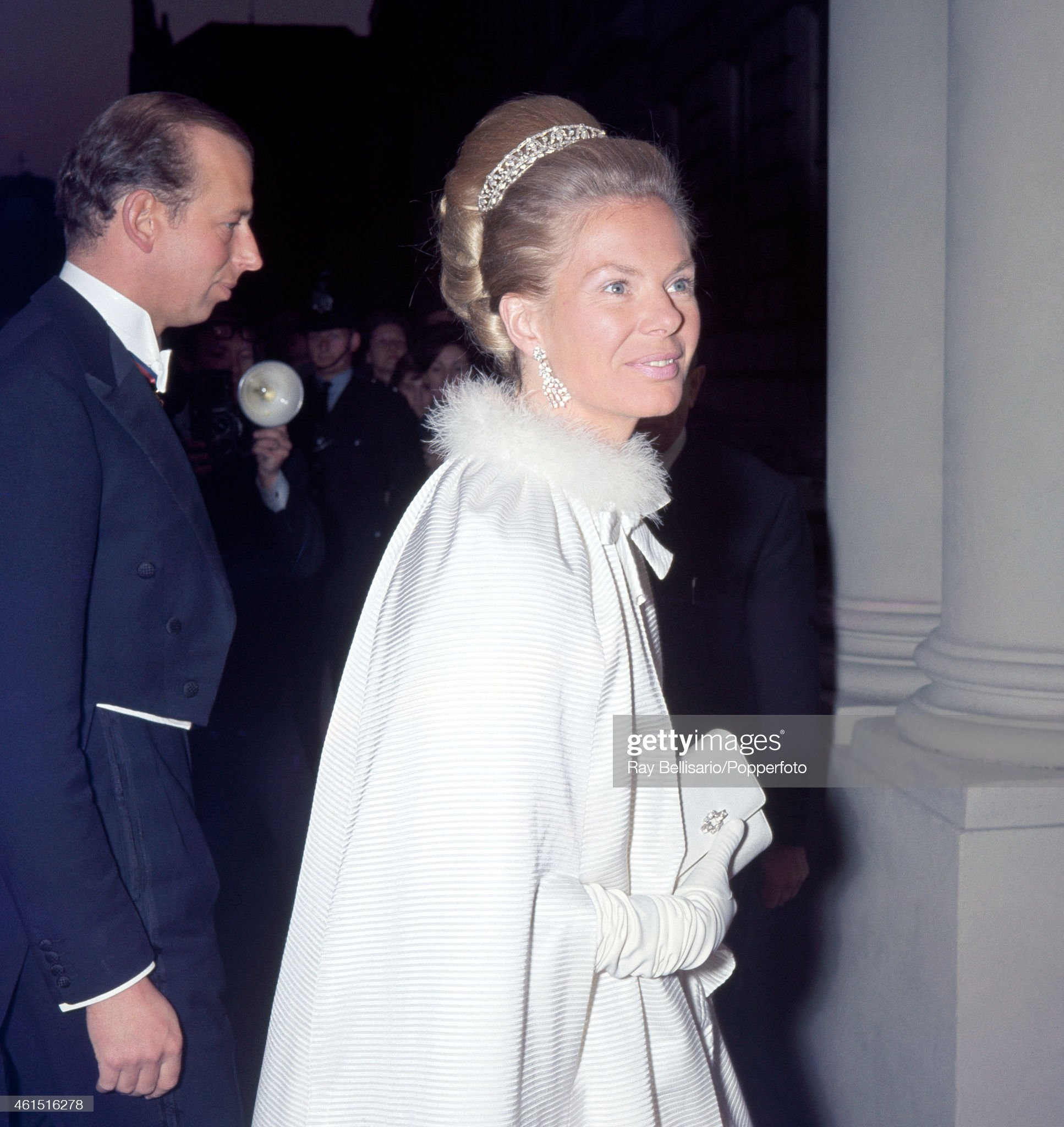 Duke And Duchess Of Kent : News Photo