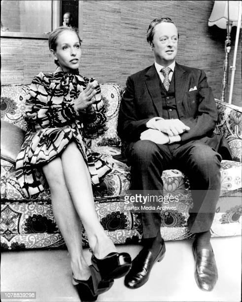 The Duke and Duchess of Marlborough at a press conference in the Wentworth Hotel City The Duke and Duchess are major celebrityvisitors for the Best...