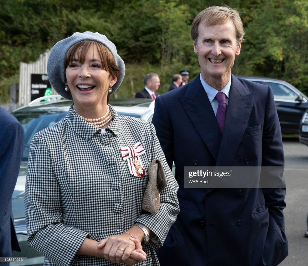Royal visit to Northumberland : News Photo