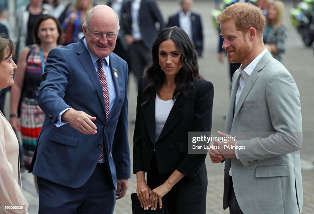 Визит герцога и герцогини Сассекских в Ирландию. День 2