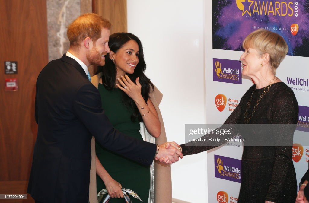 The Duke and Duchess of Sussex attend the WellChild Awards : News Photo