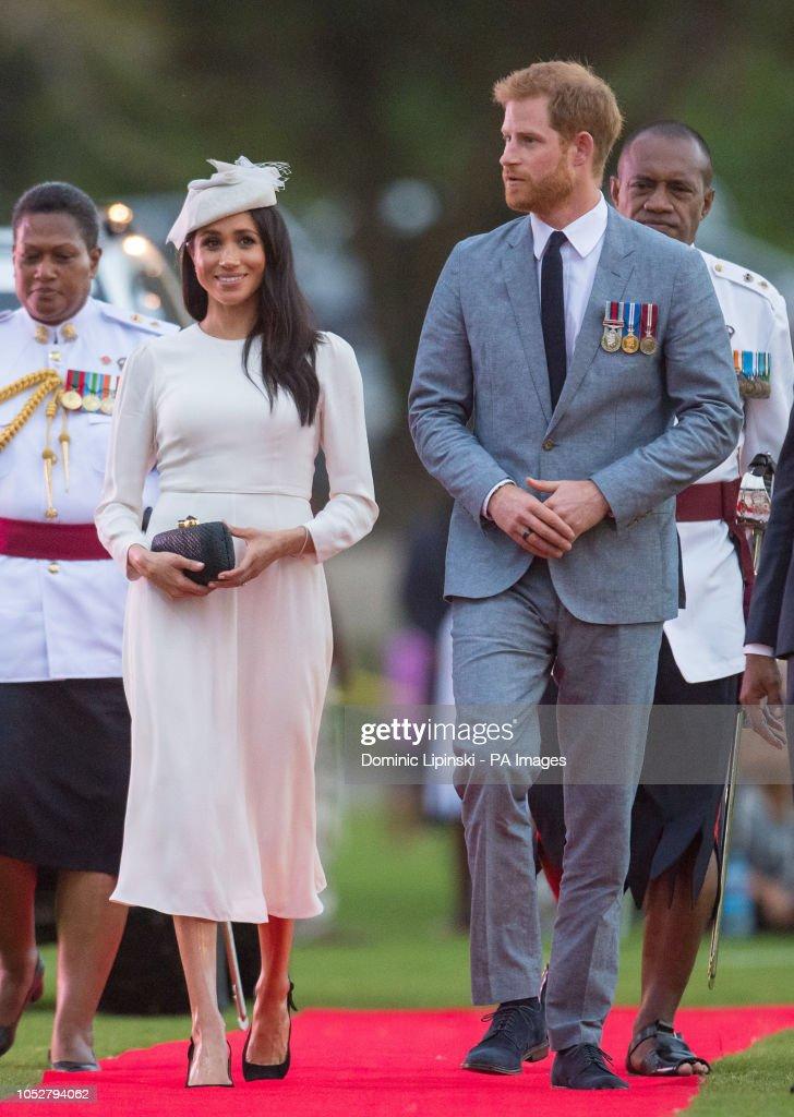 Royal tour of Fiji and Tonga - Day One : News Photo