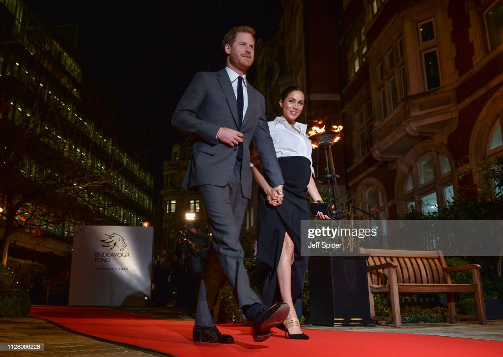 GBR: The Duke & Duchess Of Sussex Attend The Endeavour Fund Awards