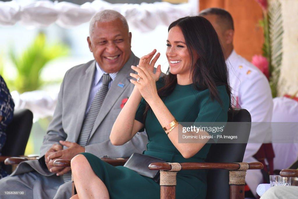Royal tour of Fiji - Day Three : News Photo