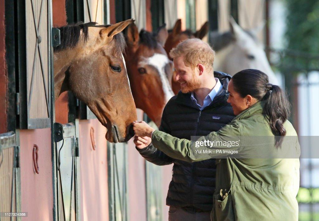 Duke and Duchess of Sussex visit to Morocco - Day 3 : News Photo