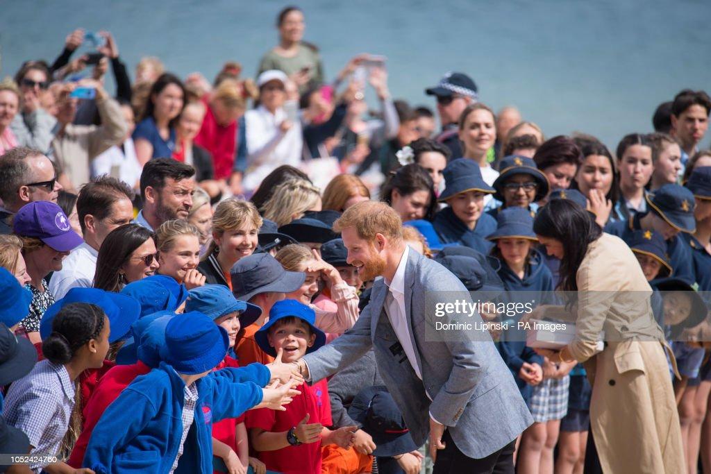 Royal tour of Australia - Day Three : News Photo