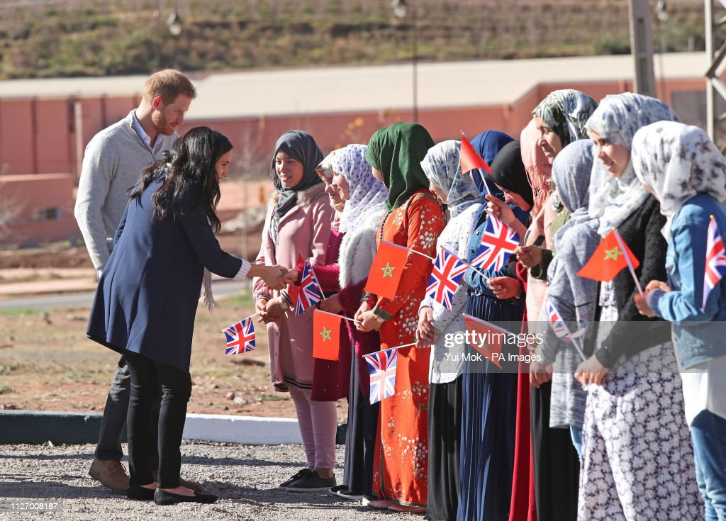 Duke and Duchess of Sussex visit to Morocco - Day 2 : News Photo