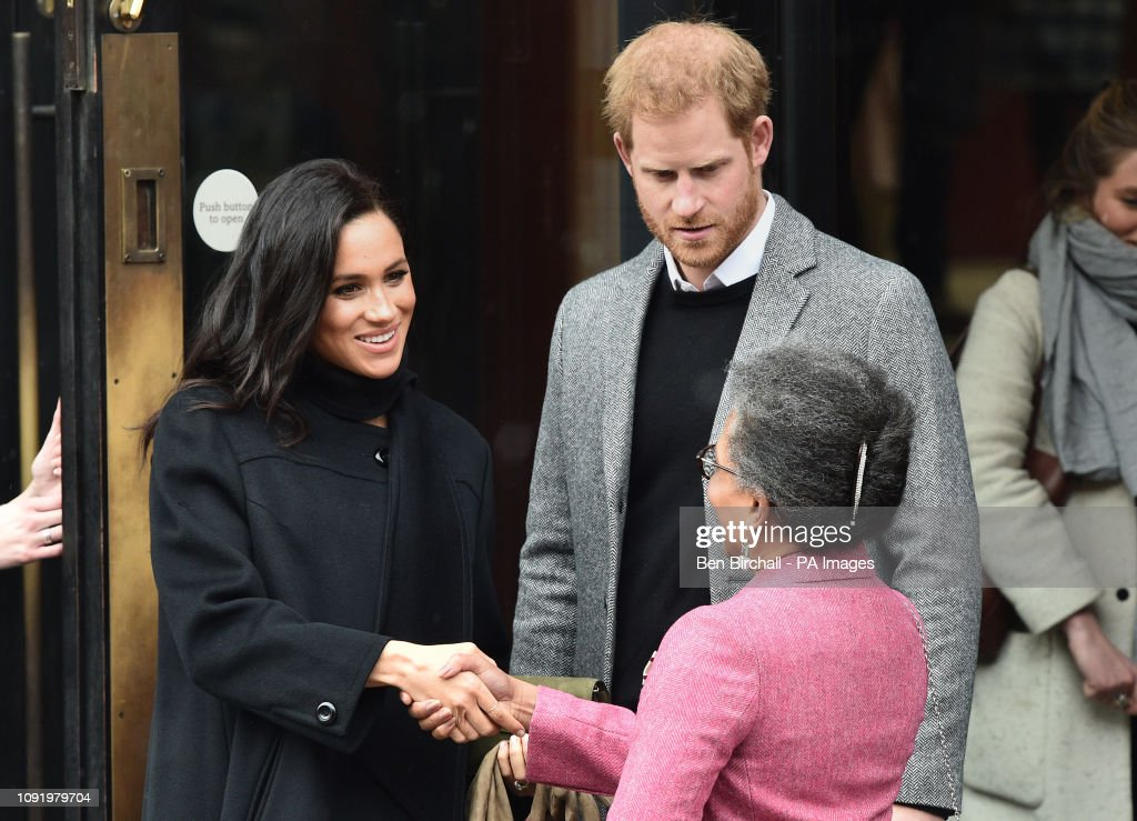 Duke and Duchess of Sussex visit Bristol : News Photo