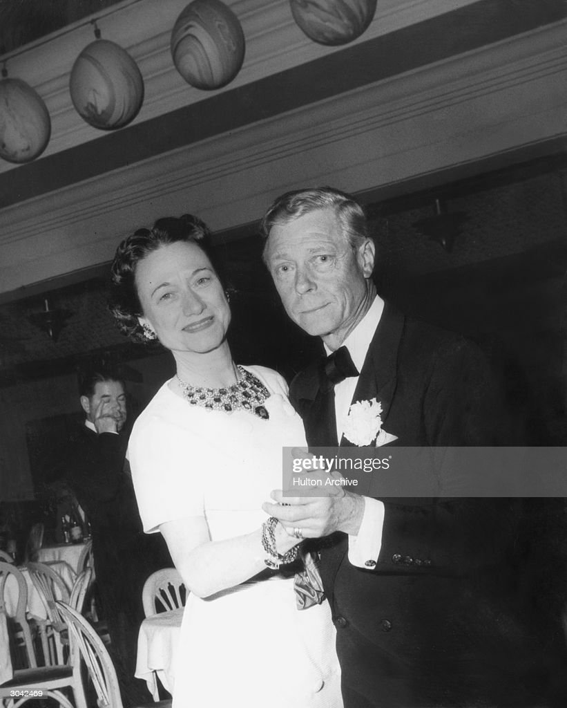 The Duke (1894 - 1972) and Duchess of Windsor (1896 - 1986) dancing at the Patio Club in Palm Beach, 19th March 1957.