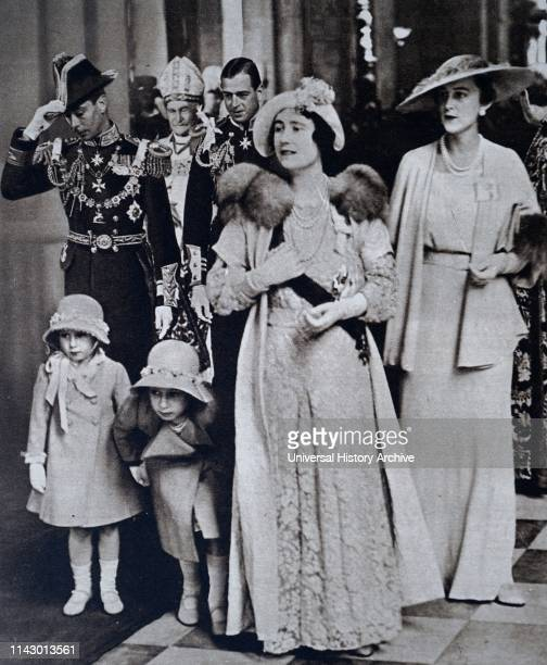 The Duke and Duchess of York. Later King George VI and Queen Elizabeth. With Princess Elizabeth and Princess Margaret The Duke and Duchess of York....