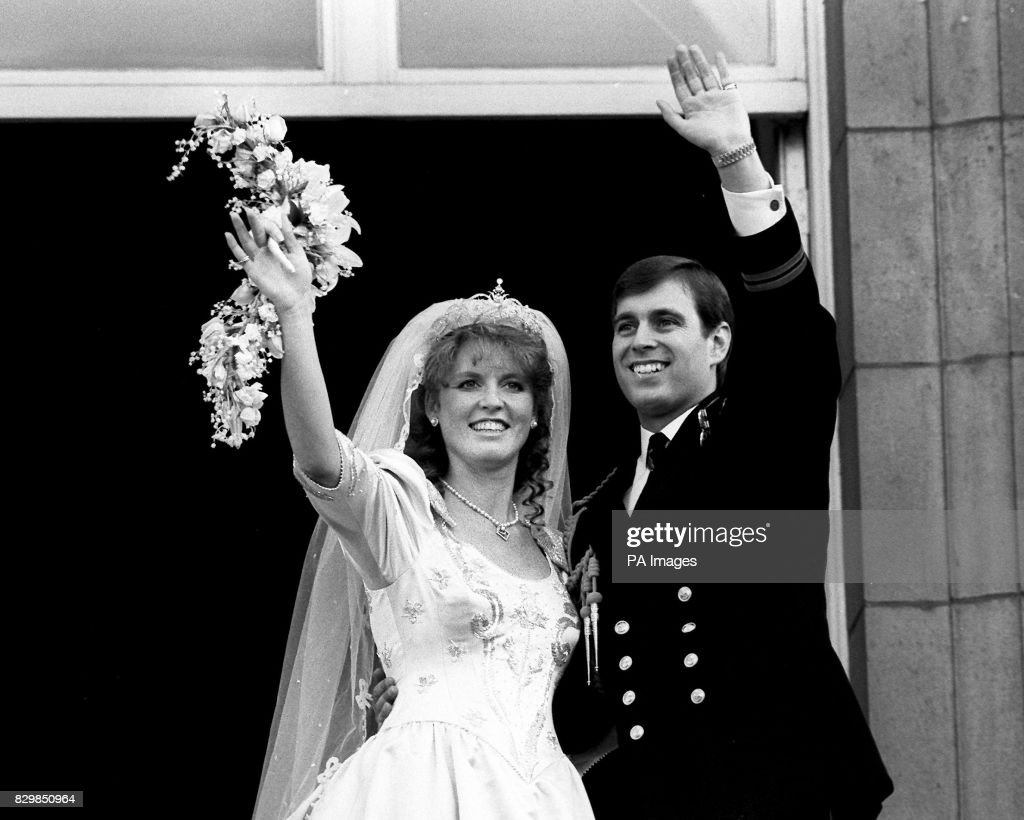 Royalty - Duke and Duchess of York Wedding - Westminster Abbey : News Photo