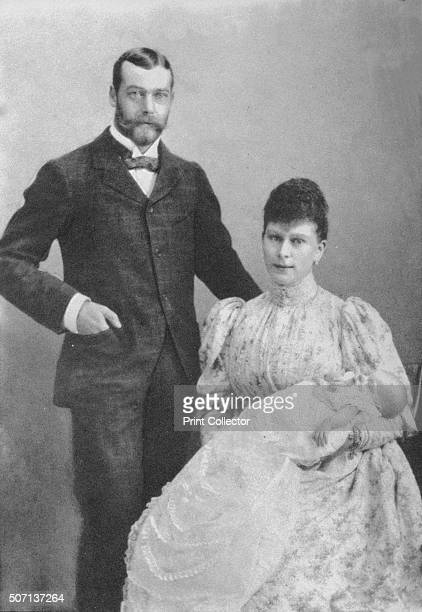The Duke and Duchess of York with the infant Prince Edward 1894 The future King George V and Queen Mary with their eldest son the future King Edward...