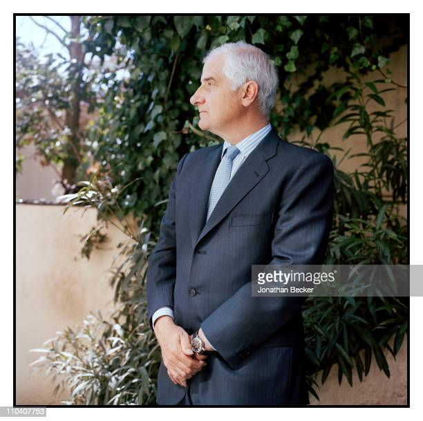 The Duke of Aliaga Don Alfonso Martinez de Irujo is photographed for Vogue Espana on March 1517 2010 in Madrid Spain Published image