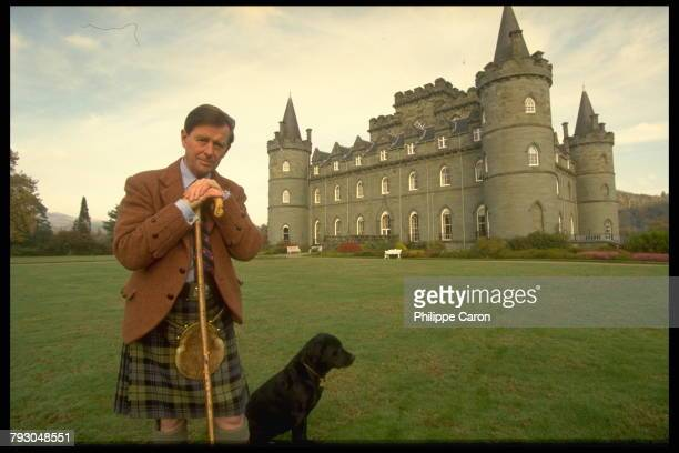 The Duke of Argyll chief of the Campbell Clan