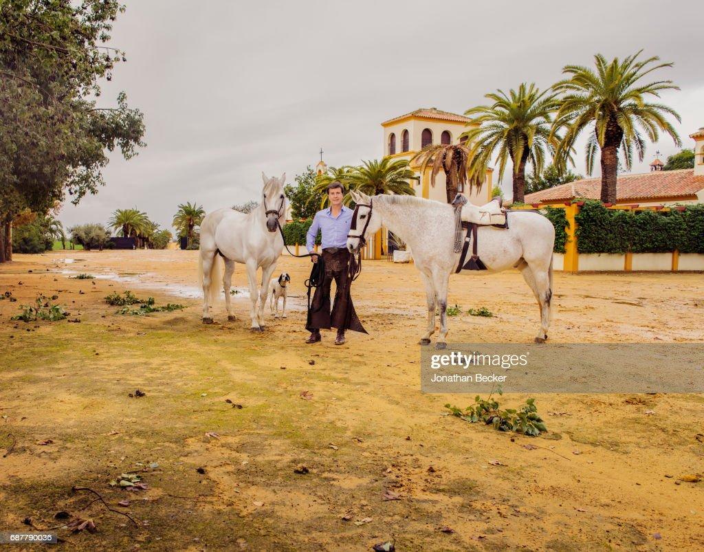 Cayetano Martinez de Irujo, Vanity Fair Spain, January 2017 : News Photo