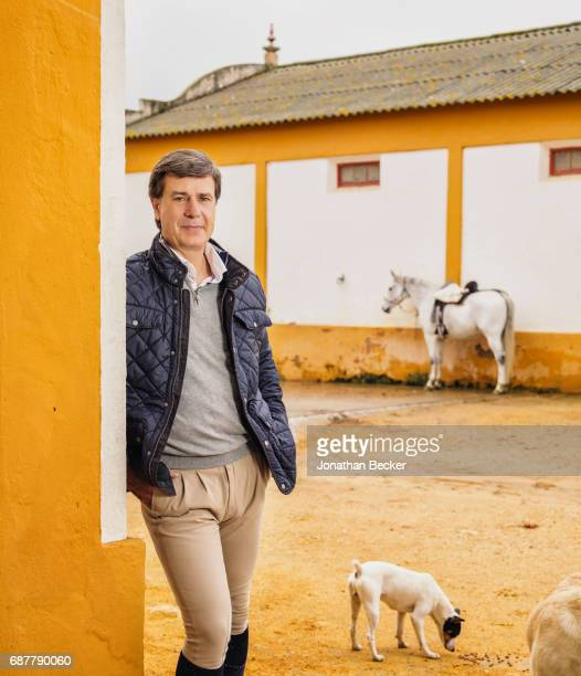 The Duke of Arjona, Cayetano Martinez de Irujo is photographed for Vanity Fair - Spain on November 21, 2016 at his estate Las Arroyuelas in Seville,...