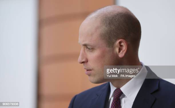 The Duke of Cambridge arrives for a visit to the Evelina London Children's Hospital in London to celebrate the national rollout of the 'Step into...