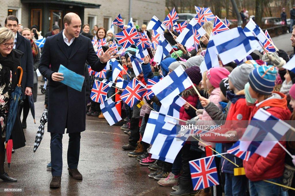Royal visit to Finland : News Photo