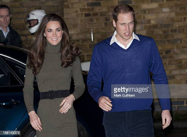 The Duke Of Cambridge Patron Of Centrepoint And The Duchess Of Cambridge Visit Centrepoints Camberwell Foyer London Se5