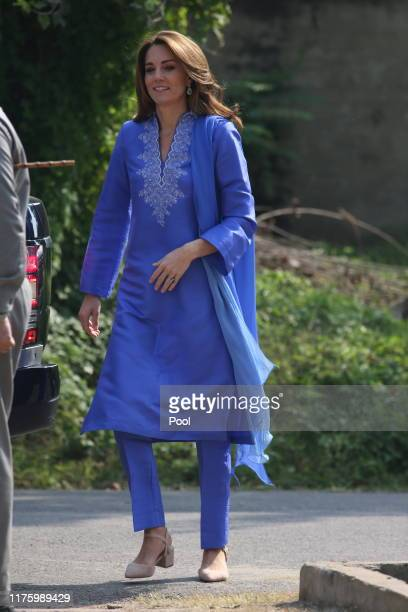 NMA POOL The Duke of Cambridge Prince William accompanied by The Duchess of Cambridge Kate Middleton VISIT a School in Islamabad today on a visit you...