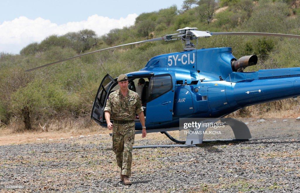 KENYA-BRITAIN-ROYALS : News Photo