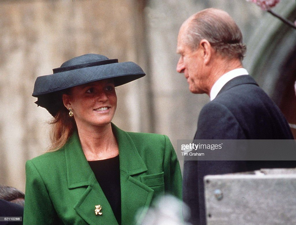 Duchess Of York And Philip : News Photo