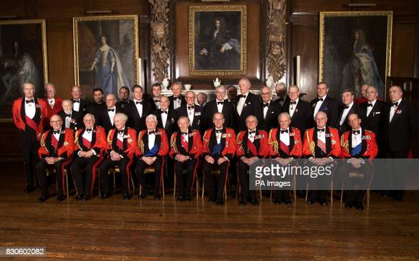 The Duke of Edinburgh attends the Army Benevolant Fund 60th Anniversary Dinner at The Royal Hospital, Chelsea, London. * He is pictured with front...