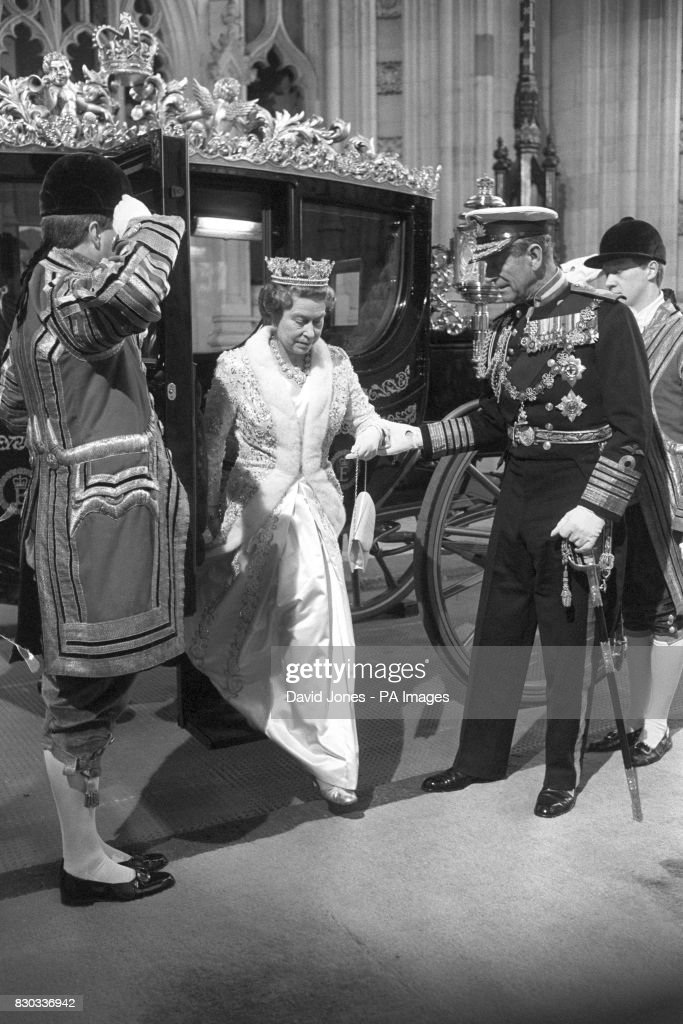 Royalty - State Opening of Parliament - Houses of Parliament, London : News Photo