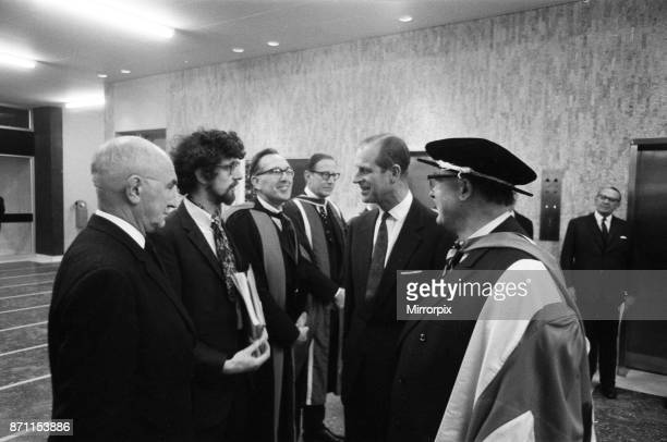 The Duke of Edinburgh meets Piers Corbyn The Queen and The Duke of Edinburgh visit Imperial College of Science and Technology to open the new College...
