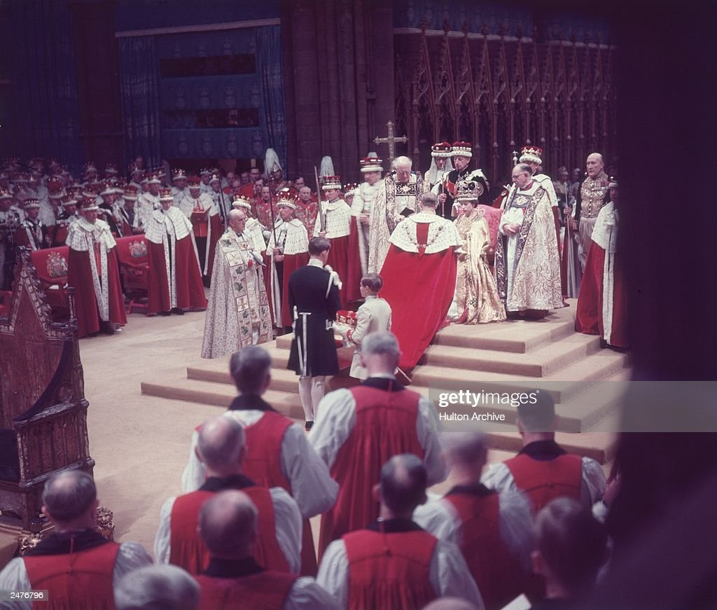 Queen Elizabeth II's Coronation  : News Photo