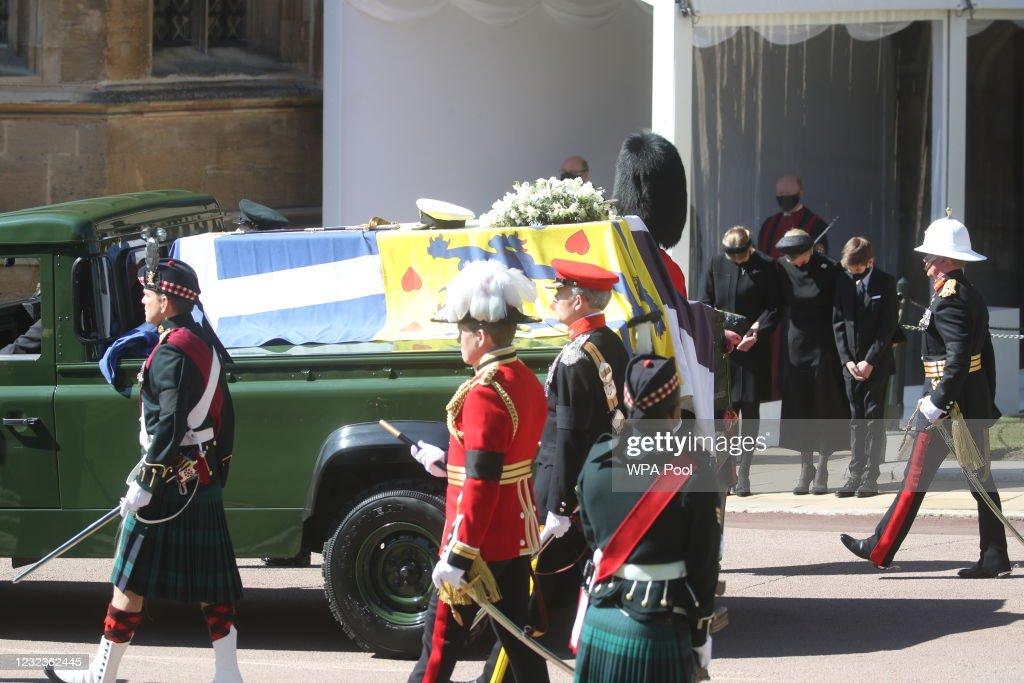 The Funeral Of Prince Philip, Duke Of Edinburgh Is Held In Windsor : ニュース写真