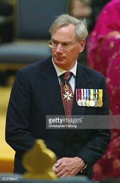 The Duke of Gloucester attends the wedding of His Royal Highness Prince Haji AlMuhtadee Billah ibni Sultan Haji Hassanal Bolkiah Mu'izzaddin...