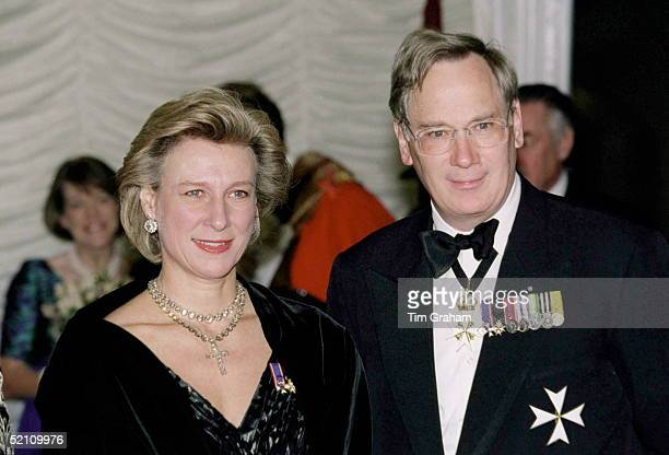 The Duke Of Gloucester Grand Prior The Order Of St John Accompanied By The Duchess Of Gloucester Attends A Dinner Held By The Corporation Of London...