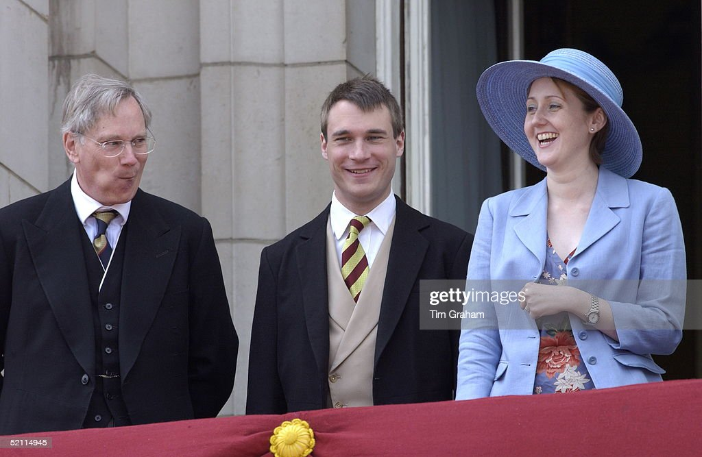 Earl Of Ulster Wedding: The Duke Of Gloucester Laughing With Alexander, Earl Of