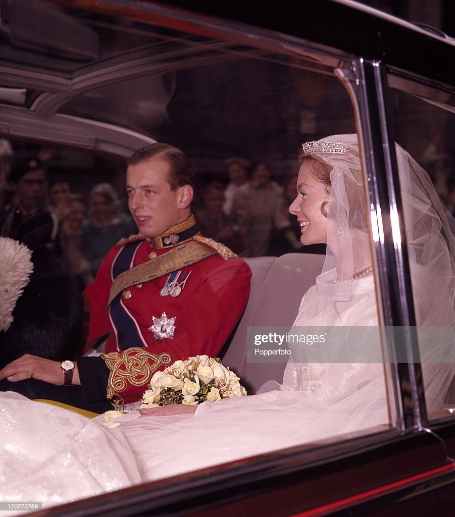 The Duke And Duchess Of Kent On Their Wedding Day : News Photo