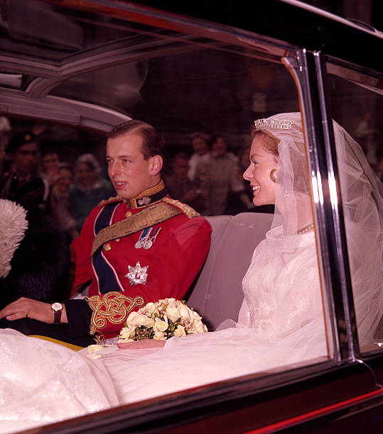 The Duke And Duchess Of Kent On Their Wedding Day Pictures