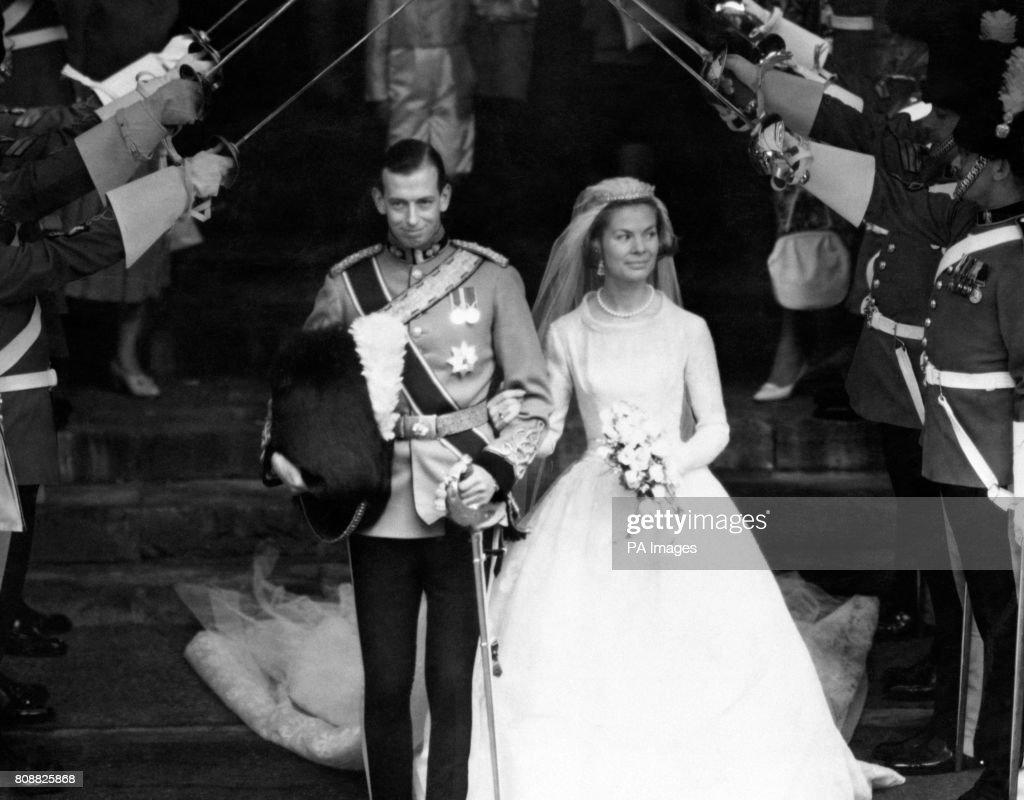 Royalty - The Duke of Kent and Katharine Worsley Wedding - York Minster : News Photo