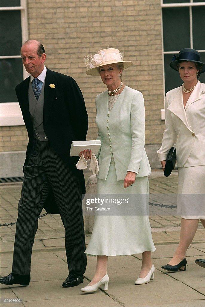 Duke Of Kent And Princess Alexandra : News Photo