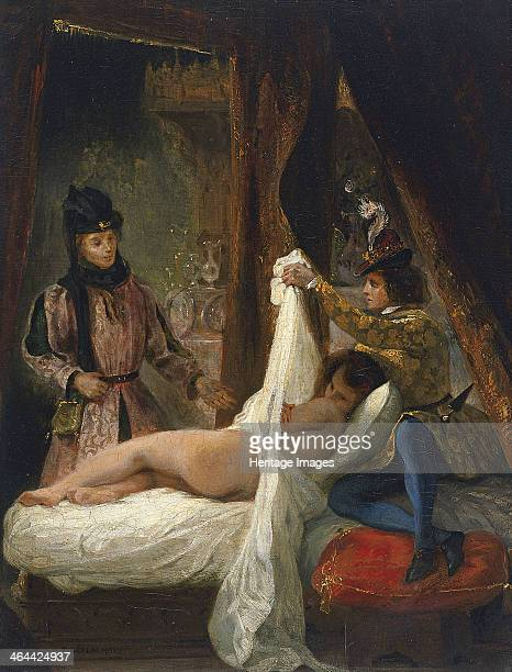 The Duke of Orléans showing his Lover, c. 1826. Found in the collection of the Thyssen-Bornemisza Collections.