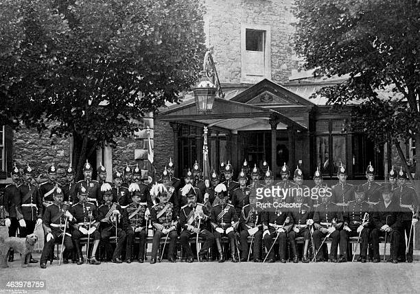 The Duke of SaxeCoburg and Gotha and the officers of the Plymouth Division 1896 The Plymouth Division of the Royal Marine Light Infantry and the...