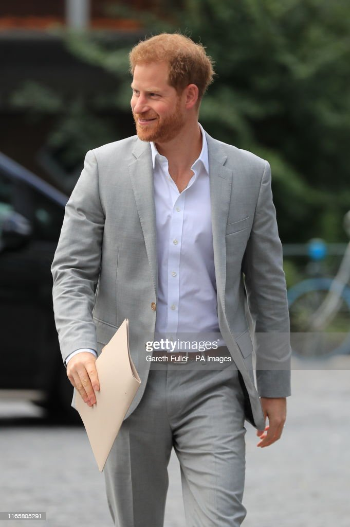 The Duke of Sussex visit to Amsterdam : News Photo