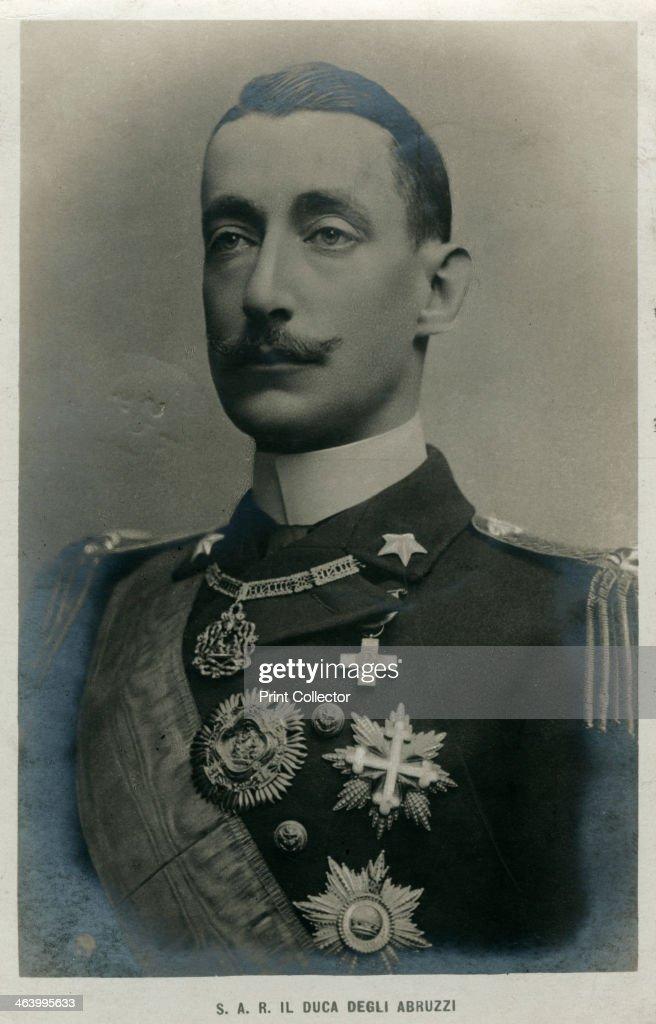 The Duke of the Abruzzi, Italian mountaineer and explorer, c1910s(?). : News Photo
