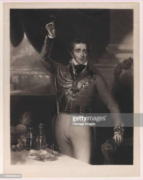 The Duke of Wellington, 1828. Artist William Say.