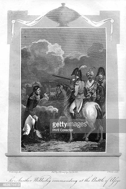 The Duke of Wellington commanding at the Battle of Assaye 1816 The Battle of Assaye occurred on 23 September 1803 near the village of Assaye in...