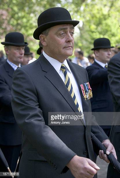 The Duke Of Westminster At The Combined Cavalry Services Memorial Hyde Park London