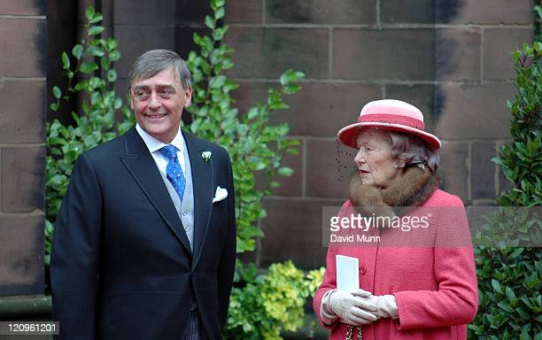 The Duke of Westminster at the wedding of Lady Tamara Katherine Grosvenor and Edward Bernard Charles van Cutsem at Chester Cathedral on Saturday...